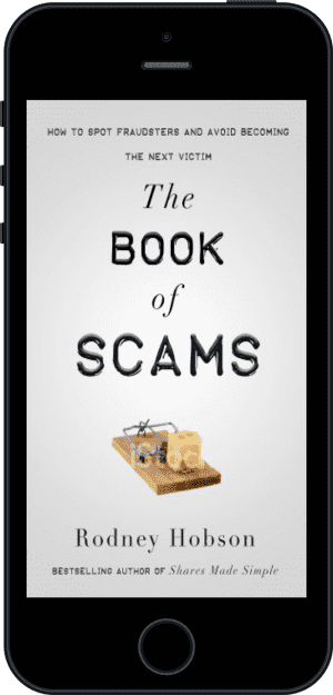Cover of The Book of Scams (Ebook - phone) by Rodney Hobson