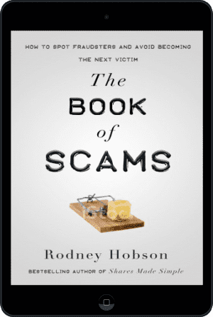 Cover of The Book of Scams (Ebook - tablet) by Rodney Hobson