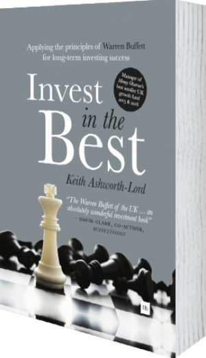 Cover of Invest in the Best (Hardback) by Keith Ashworth-Lord