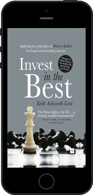 Cover of Invest in the Best (Ebook - phone) by Keith Ashworth-Lord