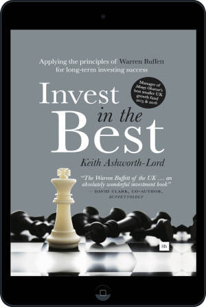Cover of Invest in the Best (Ebook - tablet) by Keith Ashworth-Lord