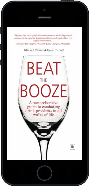 Cover of Beat the Booze (Ebook - phone) by Edmund Tirbutt andHelen Tirbutt