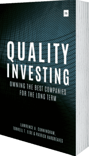 Cover of Quality Investing (Hardback) by Lawrence A. Cunningham, Torkell T. Eide and Patrick Hargreaves