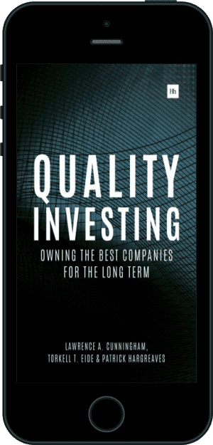 Cover of Quality Investing (Ebook - phone) by Lawrence A. Cunningham, Torkell T. Eide and Patrick Hargreaves