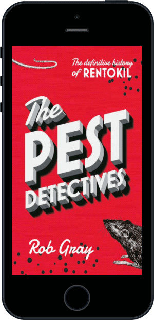 Cover of The Pest Detectives (Ebook - phone) by Rob Gray