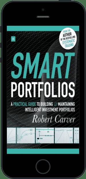 Cover of Smart Portfolios (Ebook - phone) by Robert Carver