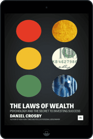 Cover of The Laws of Wealth (Ebook - tablet) by Daniel Crosby