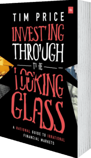 Cover of Investing Through the Looking Glass (Paperback) by Tim Price