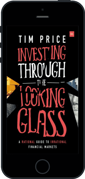 Cover of Investing Through the Looking Glass (Ebook - phone) by Tim Price