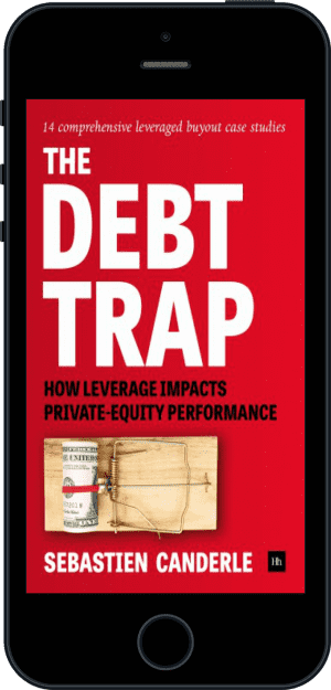 Cover of The Debt Trap (Ebook - phone) by Sebastien Canderle