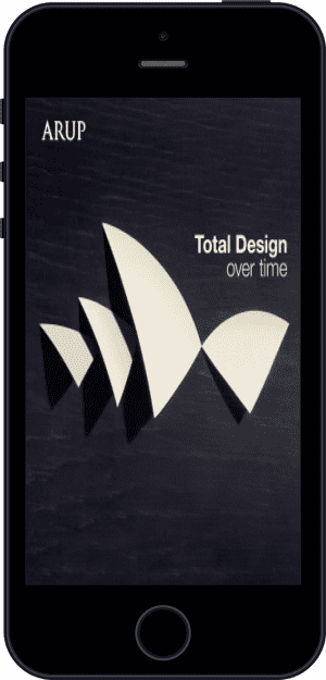Cover of Total Design Over Time (Ebook - phone) by Arup