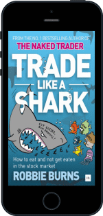 Cover of Trade Like a Shark by Robbie Burns