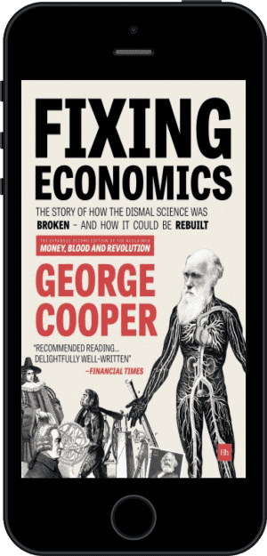 Cover of Fixing Economics (Ebook - phone) by George Cooper