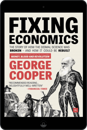 Cover of Fixing Economics (Ebook - tablet) by George Cooper