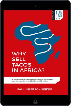 Cover of Why Sell Tacos in Africa? by Paul Oberschneider