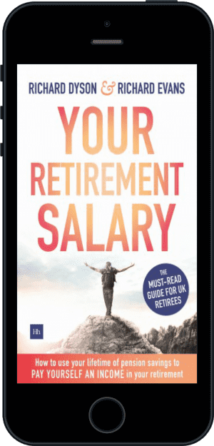 Cover of Your Retirement Salary (Ebook - phone) by Richard Evans and Richard Dyson