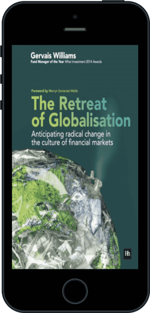 Cover of The Retreat of Globalisation (Ebook - phone) by Gervais Williams