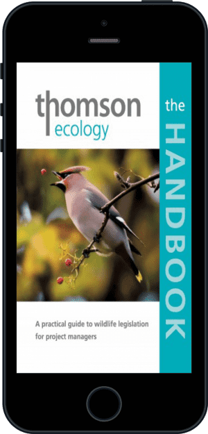 Cover of The Thomson Ecology Handbook (Ebook - phone) by Richard Arnold