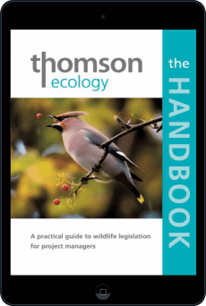 Cover of The Thomson Ecology Handbook by Richard Arnold