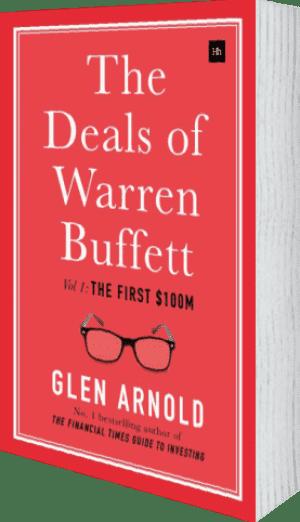 Cover of The Deals of Warren Buffett (Hardback) by Glen Arnold