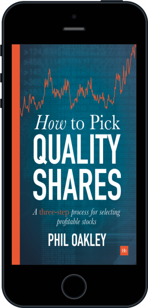 Cover of How To Pick Quality Shares (Ebook - phone) by Phil Oakley