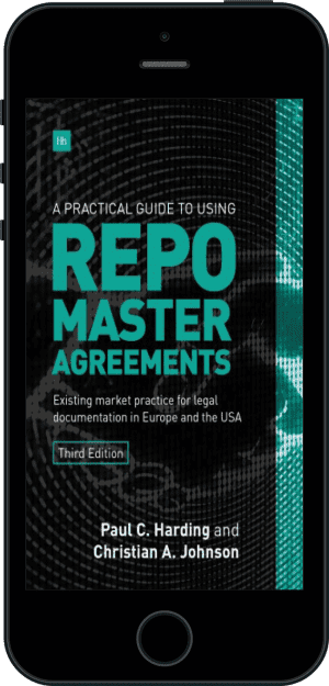 Cover of A Practical Guide to Using Repo Master Agreements (Ebook - phone) by Paul Harding and Christian Johnson