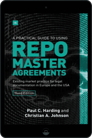 Cover of A Practical Guide to Using Repo Master Agreements (Ebook - tablet) by Paul Harding and Christian Johnson