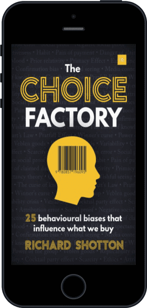 Cover of The Choice Factory (Ebook - phone) by Richard Shotton