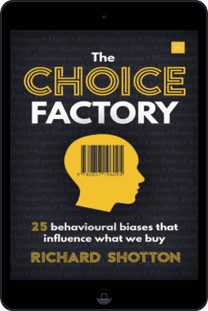 Cover of The Choice Factory (Ebook - tablet) by Richard Shotton