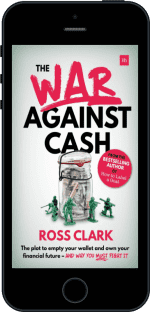 Cover of The War Against Cash by Ross Clark