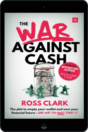 Cover of The War Against Cash (Ebook - tablet) by Ross Clark