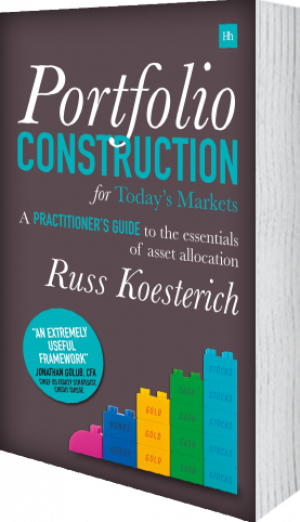 Cover of Portfolio Construction for Today's Markets (Hardback) by Russ Koesterich