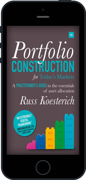 Cover of Portfolio Construction for Today's Markets (Ebook - phone) by Russ Koesterich