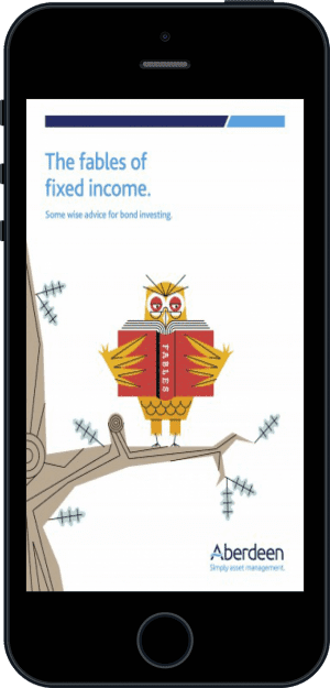 Cover of The Fables of Fixed Income (Ebook - phone) by