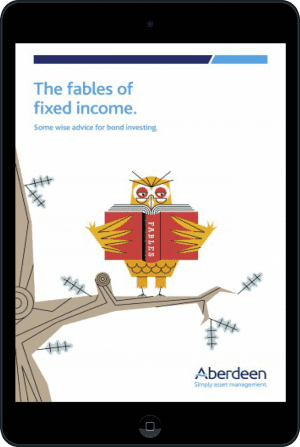 Cover of The Fables of Fixed Income (Ebook - tablet) by