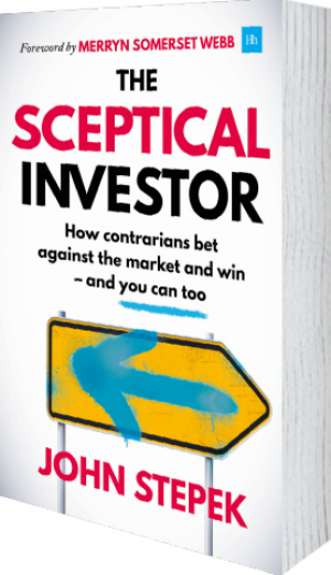 Cover of The Sceptical Investor (Paperback) by John Stepek