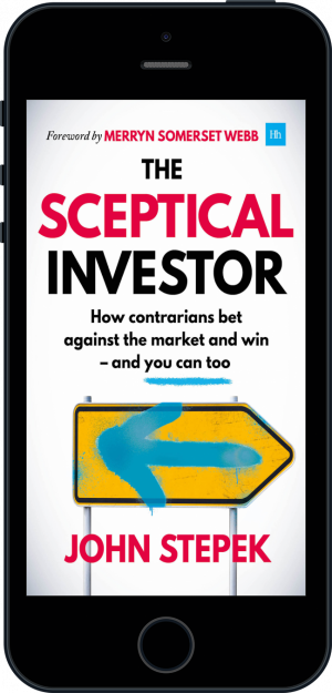 Cover of The Sceptical Investor (Ebook - phone) by John Stepek