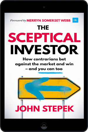 Cover of The Sceptical Investor (Ebook - tablet) by John Stepek