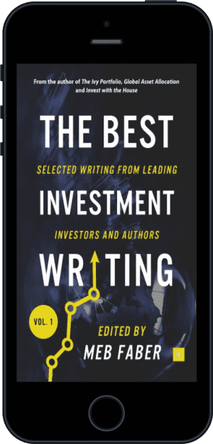 Cover of The Best Investment Writing (Ebook - phone) by Meb Faber
