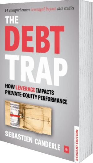 Cover of The Debt Trap - Student Edition (Paperback) by Sebastien Canderle