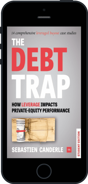 Cover of The Debt Trap - Student Edition (Ebook - phone) by Sebastien Canderle
