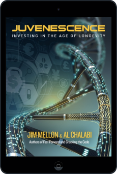 Cover of Juvenescence by Jim Mellon and Al Chalabi
