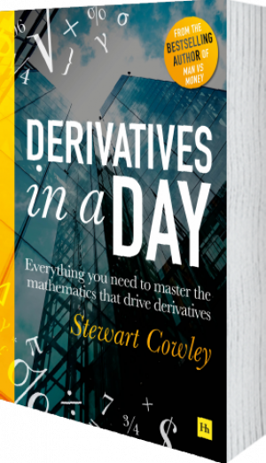 Cover of Derivatives in a Day (Paperback) by Stewart Cowley