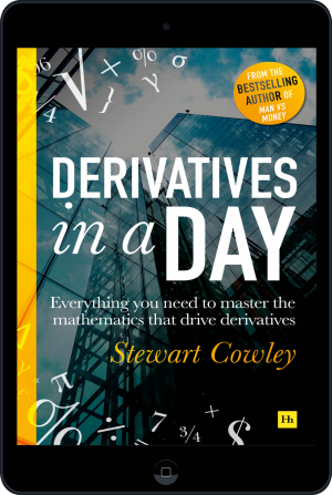 Cover of Derivatives in a Day (Ebook - tablet) by Stewart Cowley