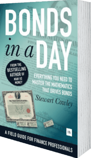 Cover of Bonds in a Day by Stewart Cowley