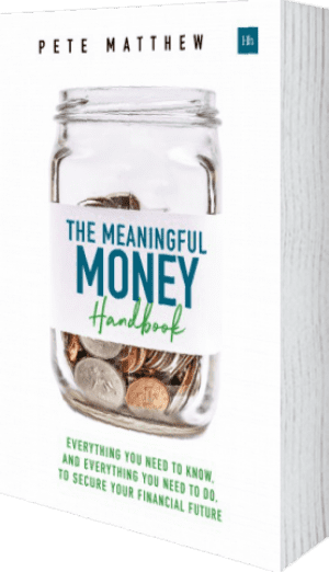 Cover of The Meaningful Money Handbook (Paperback) by Pete Matthew