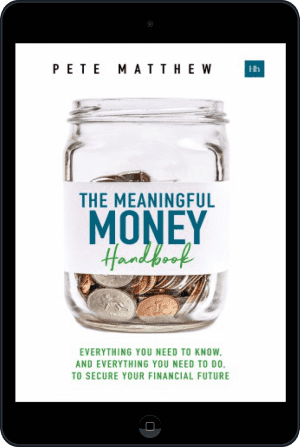 Cover of The Meaningful Money Handbook (Ebook - tablet) by Pete Matthew