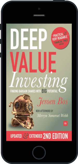 Cover of Deep Value Investing (Ebook - phone) by Jeroen Bos