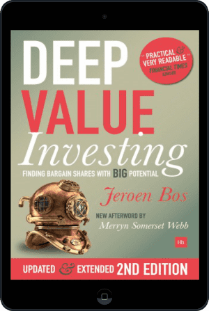 Cover of Deep Value Investing (Ebook - tablet) by Jeroen Bos
