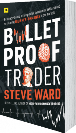 Cover of Bulletproof Trader (Paperback) by Steve Ward